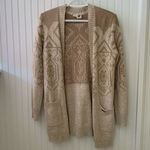 Roxy knit cardigan!